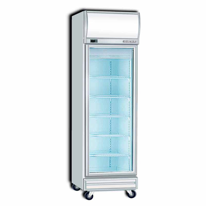 upright glass fridge maintenance